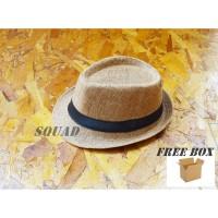 topi pria / topi fedora / topi tompi