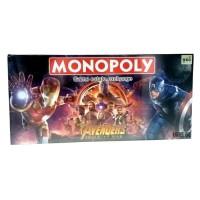 Mainan Anak Family Board Game Monopoly Avengers Permainan Keluarga