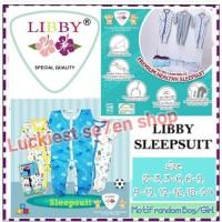 Libby Sleepsuit premium baju tidur bayi jumper panjang tutup kaki