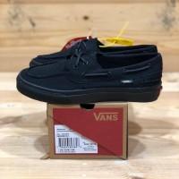 Sepatu Vans Zapato Del Barco Premium Full Black Unisex