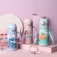 PREMIUM NEW Termos Air Botol Minum Anak BPA Free Diller Panas Dingin