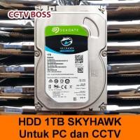 HDD SEAGATE 1TB / HARD DISK 1 TB TIPIS / SLIM Untuk CCTV