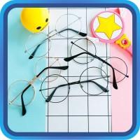 Raja - Kacamata Bulat Fashion Wanita / Kacamata Style Korea / Kacamata