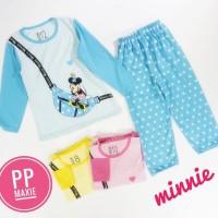 Grosir 1 Seri Baju Tidur Anak Maxie PP Size 20 Umur 9-10th