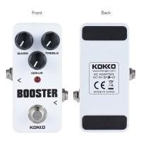 KOKKO fbs2 Pedal Efek Gitar Elektrik Mini Portable 2 Band EQ