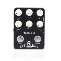 JOYO jf-17 Pedal Efek Gitar Elektrik Extreme Metal Distortion Extreme