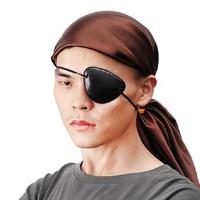 Penutup Mata Sebelah Pirate Eyepatch Bajak Laut Eye Patch Hitam Polos