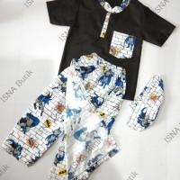 Sarkoci (Sarung celana koko peci) Baju Muslim Anak 2-5 Thn