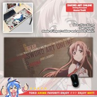 Mousepad Anime Gaming - Deskpad - Sword Art Online SAO : Asuna Yuuki
