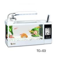 Aquarium Mini USB ( TG-03 ) Fish Tank Desktop Akuarium Ikan
