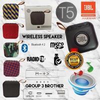 Jbl T5 Portable Mini Wireless Speaker Bluetooth V.4.2