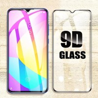 Tempered Glass Full Cover Xiaomi Mi 8 Lite 5D / 9D Anti Gores Kaca - Hitam
