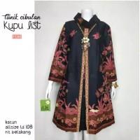 tunik batik modern baju xl jumbo bigsize pesta atasan blouse wanita