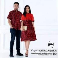 couple batik baju pasangan pria wanita pesta natal minidress pendek