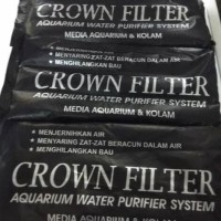 Promo Karbon Aktif For Aquarium Filtrasi : Arang Magic Crown Filter