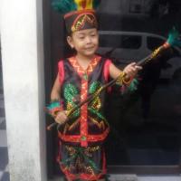 PROMO Dayak TK Wanita   Baju Adat Kostum Anak Karnaval Parade Pawai