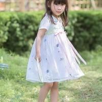PROMO hanbok hanfu baju adat china anak baju dinasti tang white pink