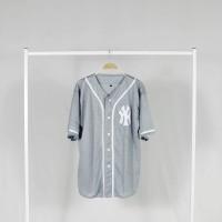 kaos base ball jersey baseball baju pria wanita NY