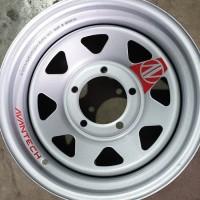 TERBARU Velg Avantech TAF/Jimny/Katana/HI-Land 15' Silver Metallic