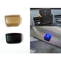 Car Ashtray Asbak Rokok Kabin Mobil Model Jepit dengan LED