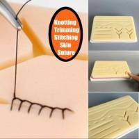 suture pad silicon/ suture training pad/ pad latihan jahit luka