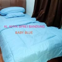 BED COVER SET FULL SIZE 120X2OOX3O-P.O HITAM DAN SEMUA WARNA