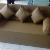Cover sarung sofa bed inoac bahan Oscar kalep nomor 1 200x180x20