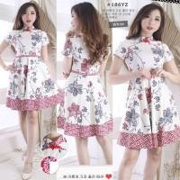 Batik Korea/Baju atasan wanita/Fashion wanita/Cheongsam imlek