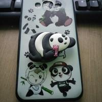 Case Samsung J7 J700 J7 core motif gambar pop socket karakter panda