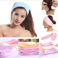 Bando Mandi Serbaguna - Bando Salon Kecantikan - Bandana Facial Cuci