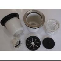 AFUR SINK / SARINGAN BAK CUCIAN PIRING PVC- BIBIR STAINLESS