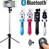 READY STOCK Tongsis Bluetooth 3in1 Remote Murah Bisa Berdiri