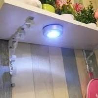 stuck klik touch lamp lampu tempel tekan led