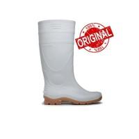 Sepatu Boot Karet AP Terra (Putih & Kuning) - Putih, 41
