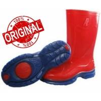 Sepatu AP Boots Anak Merah
