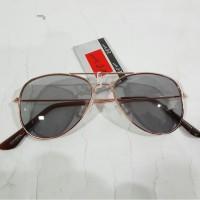 Kacamata ANAK laki hitam Aviator fashion tidak kena debu & silau murah