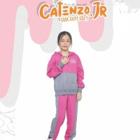 CJ 1CMN94 Baju Setelan Anak Perempuan Olahraga Hoodies Cantik Trendy