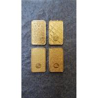 Antam Emas Logam Mulia 10gr Edisi Batik Seri Pertama Set