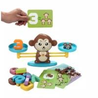 Mainan Anak Monkey Balance Timbangan Edukasi Belajar Matematika
