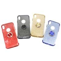 CASE GLITTER RING OPPO A3S A5S F11 PRO REDMI 6A 6 PRO GO PLAY POCOPHON