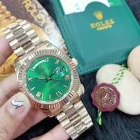 Jam Tangan Merek Rolex Oyster DayDate Automatic 4.1cm Premium