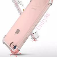 Iphone X XR 5 6 6+ 7 7+ 8 8+ Anti Crack Silikon Jelly Soft Case Bening