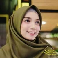 Saudia Ansania Rawis Murah Hijab Jilbab Segiempat Segi Empat Saudi