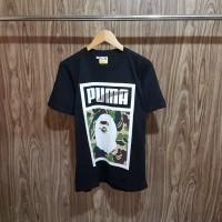 Kaos Bape X Puma Black