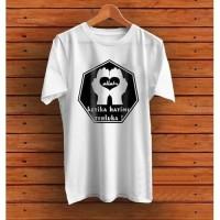kaos dagelan doa t-shirt muslim - Putih - M