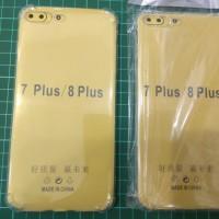 Anti Crack Iphone 7 Plus 8 Plus 7+ 8+ Case Bening Anticrack Jelly Soft