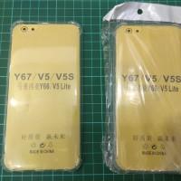 Anti Crack Vivo V5 / V5S / Y67 Case Bening Anticrack Jelly Softcase