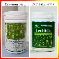 SUPER MURAH LECITHIN SOFGEL GREEN WORLD KRAM KESEMUTAN KOLESTROL