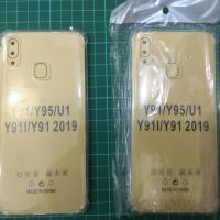 Anti Crack Vivo Y91 / Y95 / Y93 Case Bening Anticrack Jelly Softcase