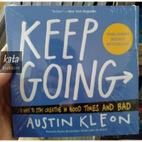 Buku KEEP GOING - Austin Kleon